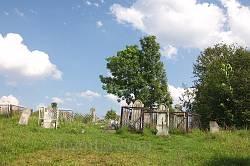 Єврейський цвинтар - кіркут у Ясіні. Загальний вигляд.