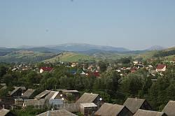 Вид з Ясіні на хребет Хом'яка - Синяка