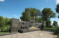 Любомль. Мемориал советских времен на замчище