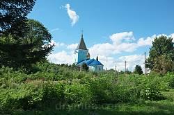 Любомль. Церковь св. Юрия за замковыми валами