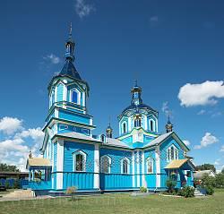 Любомль. Дерев'яна церква Рідзва Богородиці