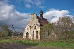 Загальний вигляд католицької каплиці у Липівцях