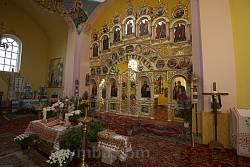 Интерьер храма св. Ольги