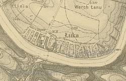 Територія маєтку на мапі барона Фон Міга