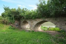 Село Лука. Барская усадьба. Декоративный мост