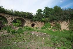 Остатки барского двора и парка в селе Лука