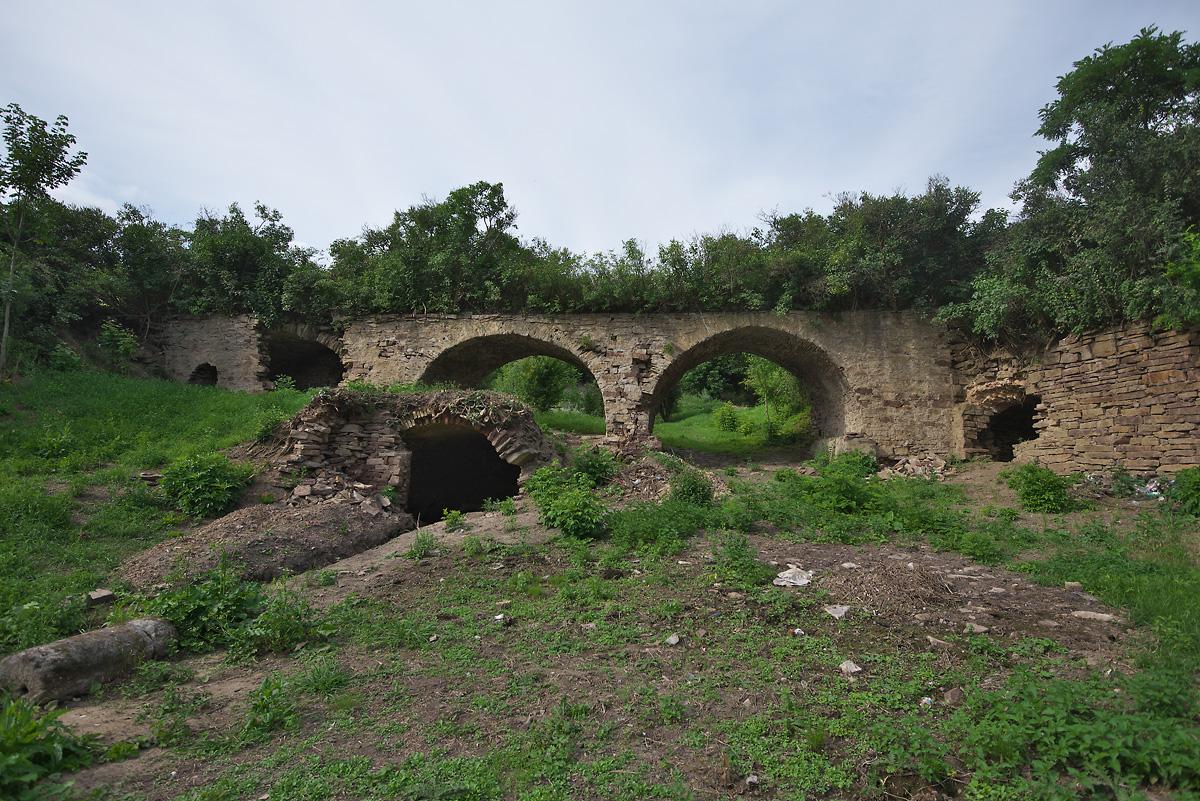Село Лука. Бывший господский двор, парк