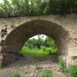 Барская усадьба, каменный мост (с.Лука, Ивано-Франковская обл.)