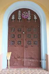 Ковані старовинні двері