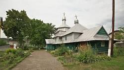 Церковь св.Димитрия. Село Кулаковцы