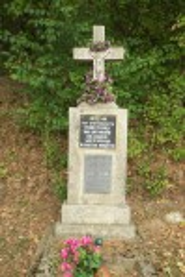 Могила воинов УПА из села Новоселка, погибших в 1947 году