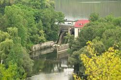 Плотина Касперовской ГЭС