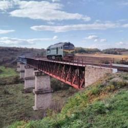 Железнодорожный мост - виадук через р.Ничлаву (с.Жилинцы, Тернопольская обл.)