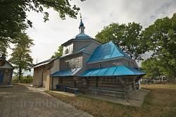 Церква св.Миколая у селе Висічка