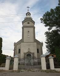 Фасад костелу Матері Божої Святого Скапулярію