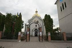 Фасад храму