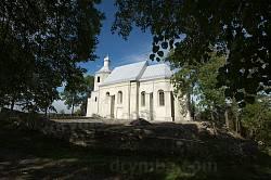 Колишній костел (нині церква) у селі Новосілки