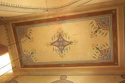 Роспись потолка в притворе