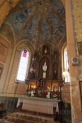 Головний вівтар та оздоблення стелі