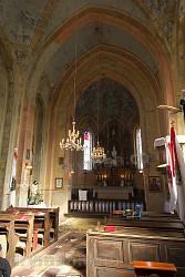 Інтер'єр костелу св. Вікентія Де Поля