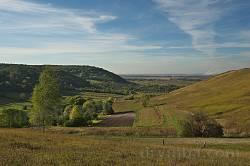 Пейзаж холмов Гологор в одноименном селе