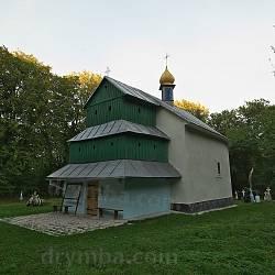 Церква св.Дмитрія у селі Гологірки
