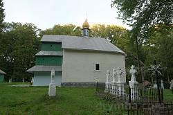 Дмитрівська церква у Гологірках. Загальний вигляд