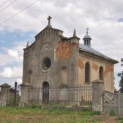 Костел - усыпальница Городиских (с.Колындяны, Тернопольская обл.)
