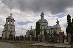 Колындяны. Церковь св.Николая с колокольней