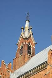 Головна вежа костелу