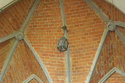 Декор стелі над порталом