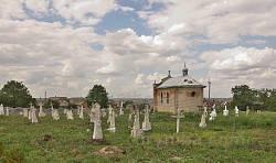 Цвинтар у Колиндянах. Загальний вигляд