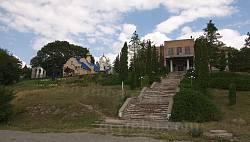Центр села Колиндяни