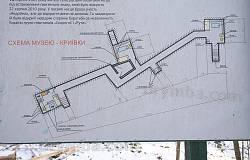 Схематичний план криївки