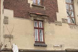 Оформление окна на главном фасаде