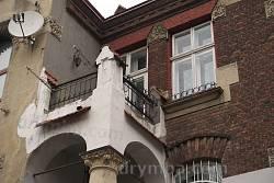 Балкон на головному фасаді