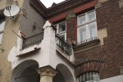 Балкон на главном фасаде