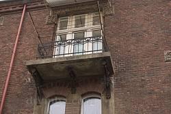 Балкончик на юго-восточном фасаде