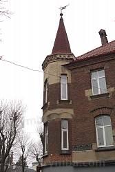 Вигляд на вежу з вул. Гіпсової