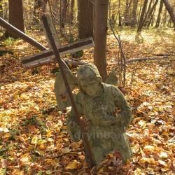 Цвинтар колишнього села Гутисько (с.Новосілка, Львівська обл.)
