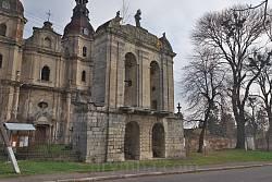 Колокольня монастыря бернардинцев в Гвоздце