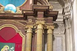 Декор главного алтаря