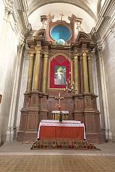 Гвоздец. Главный алтарь бернардинского костела