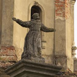 Колонна с фигурой св. Яна из Дукли