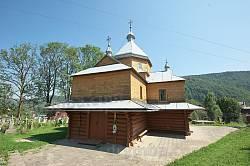 Дерев'яна Успенська  церква