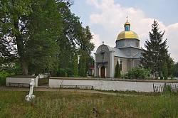 Церква св.Миколая у селі Панівці