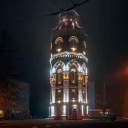 Водонапорная башня (город Мариуполь, Донецкая обл.)