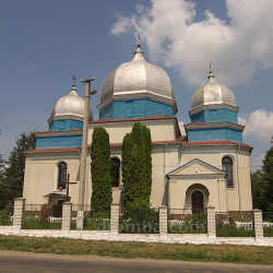 Церковь Пресвятой Троицы (с.Дзвинячка, Тернопольская обл.)