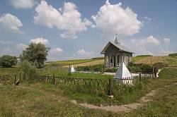 Дзвинячка. Цілюще джерело та каплиця на південні околиці села