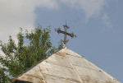 Крест на колокольне
